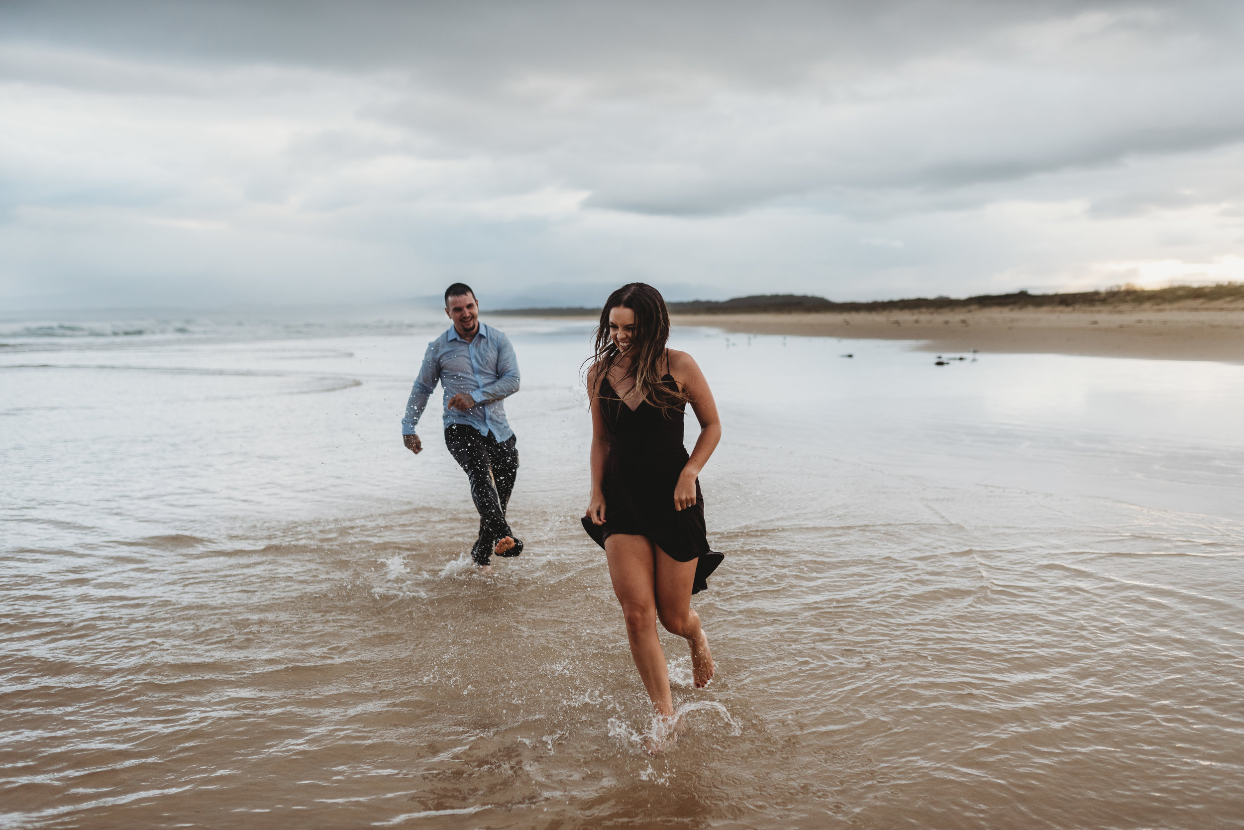 Brooke & Peter - Rainy Sunset Wollongong Engagement     February 22nd 2019
