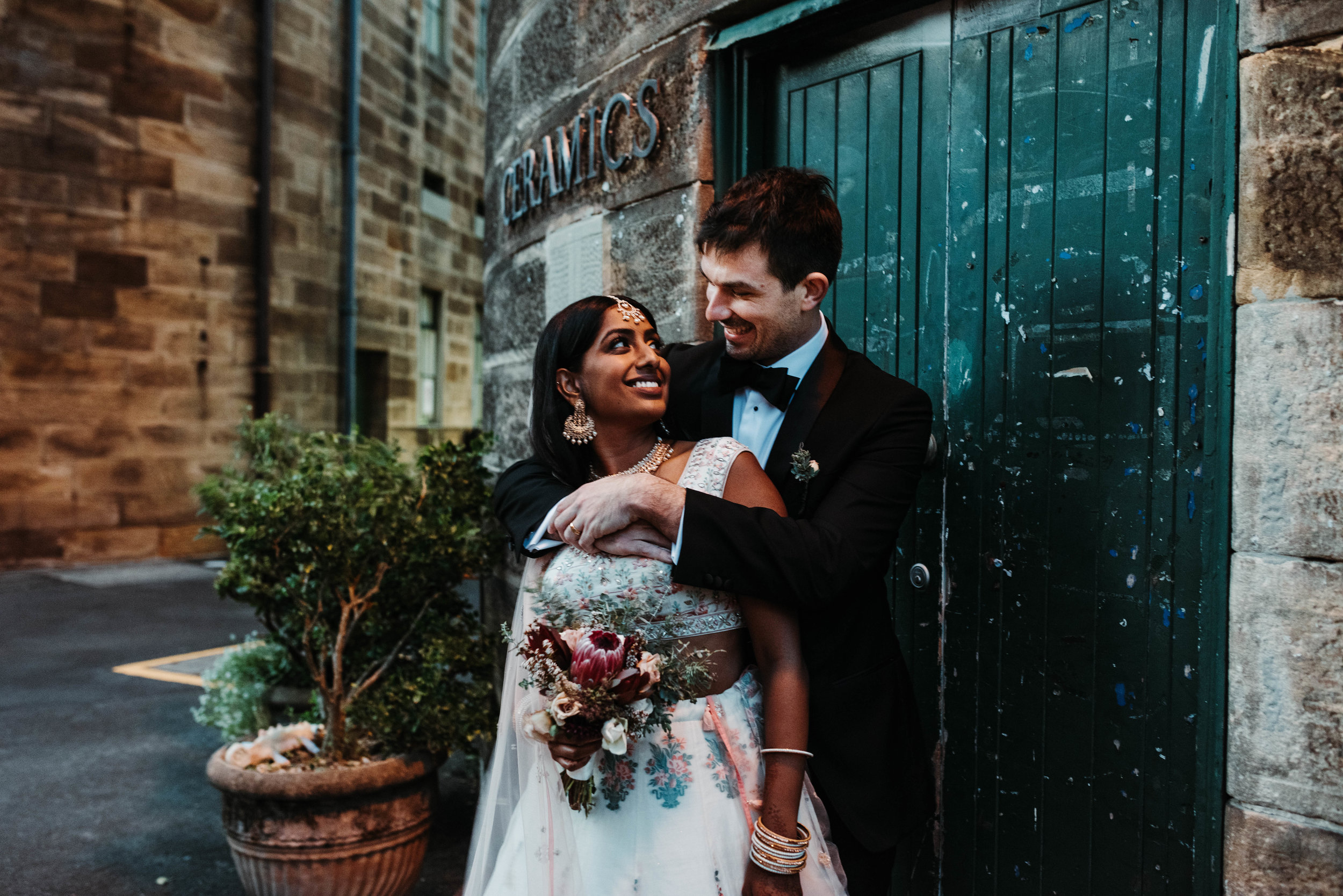 Thulasi & Erasmus - Cell Block Theatre, Sydney Wedding    30th March 2019