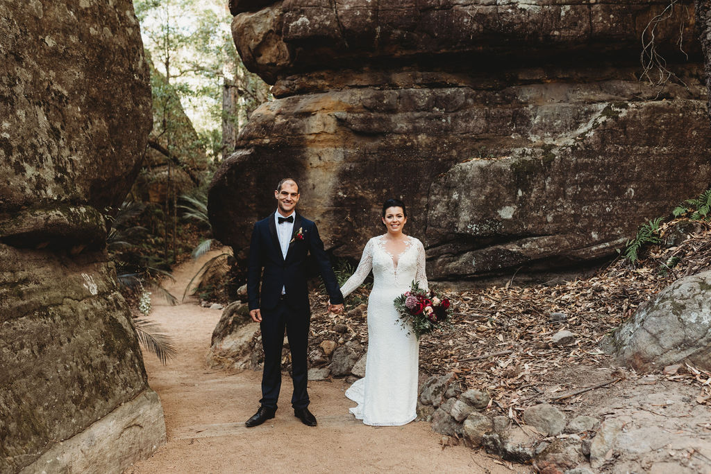 Briley & Sam - Kangaroo Valley Bush Retreat Wedding    28th May 2019