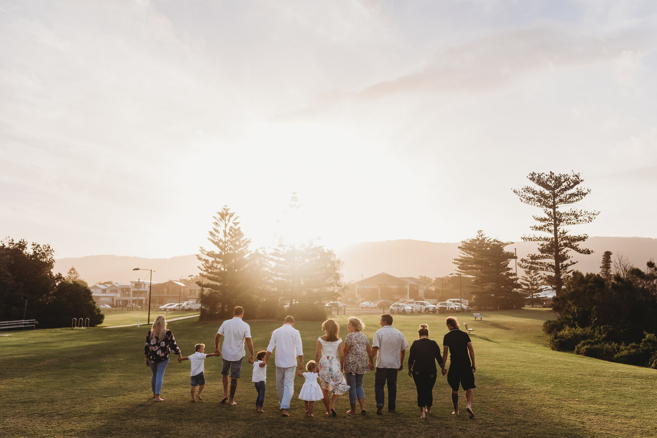 The Worthington's - Sandon Point, Wollongong Extended Family Session     27th February 2019