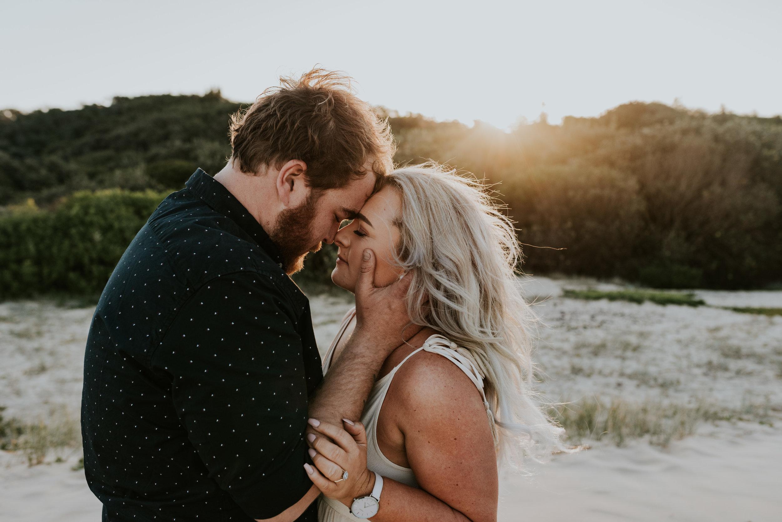 Kynomie & Josh - Redhead Beach, Newcastle Engagement    13th July 2019