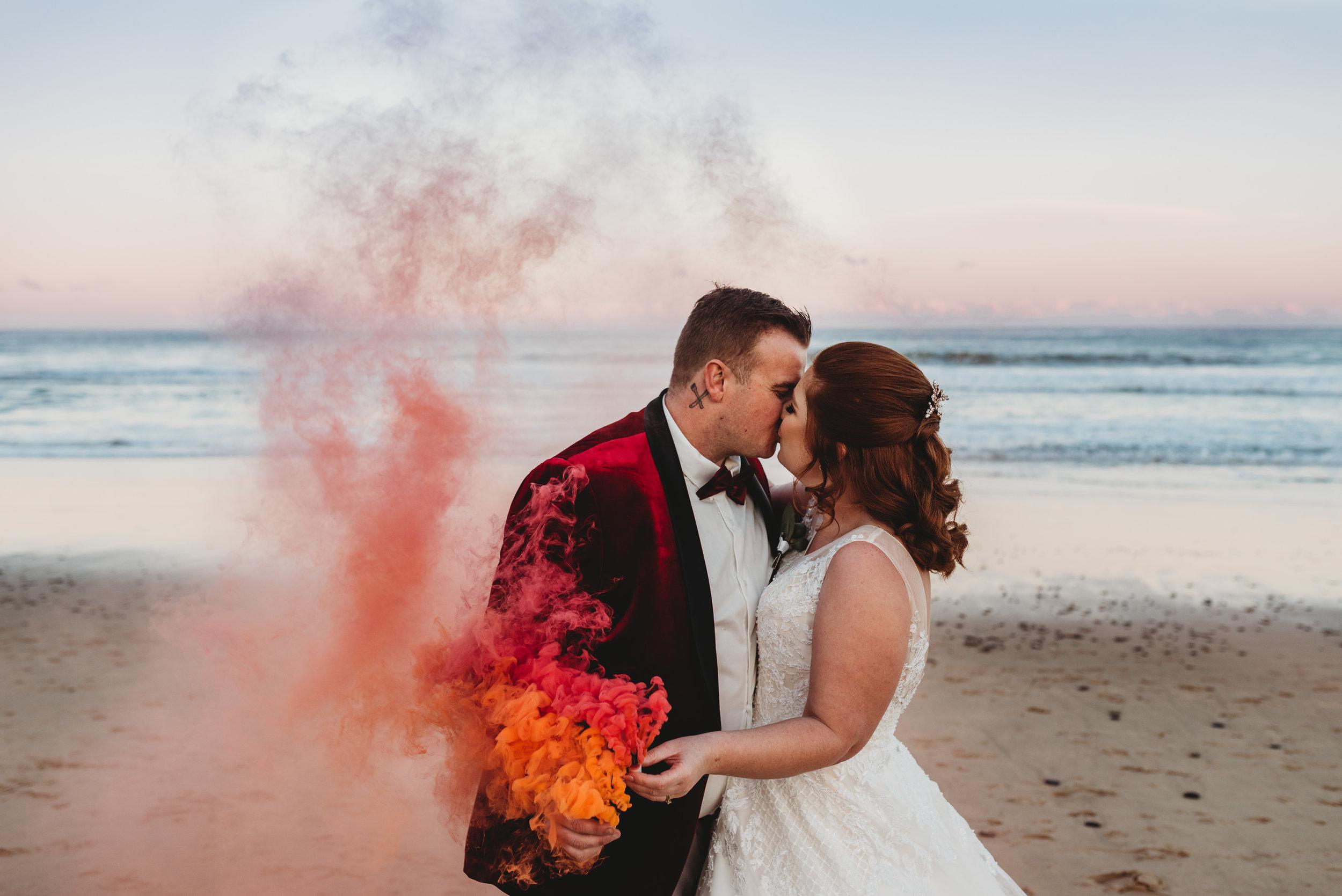 Mel & Mitch - Glastonbury Gardens, Austinmer & Thirroul SLSC Wedding    3rd August, 2019
