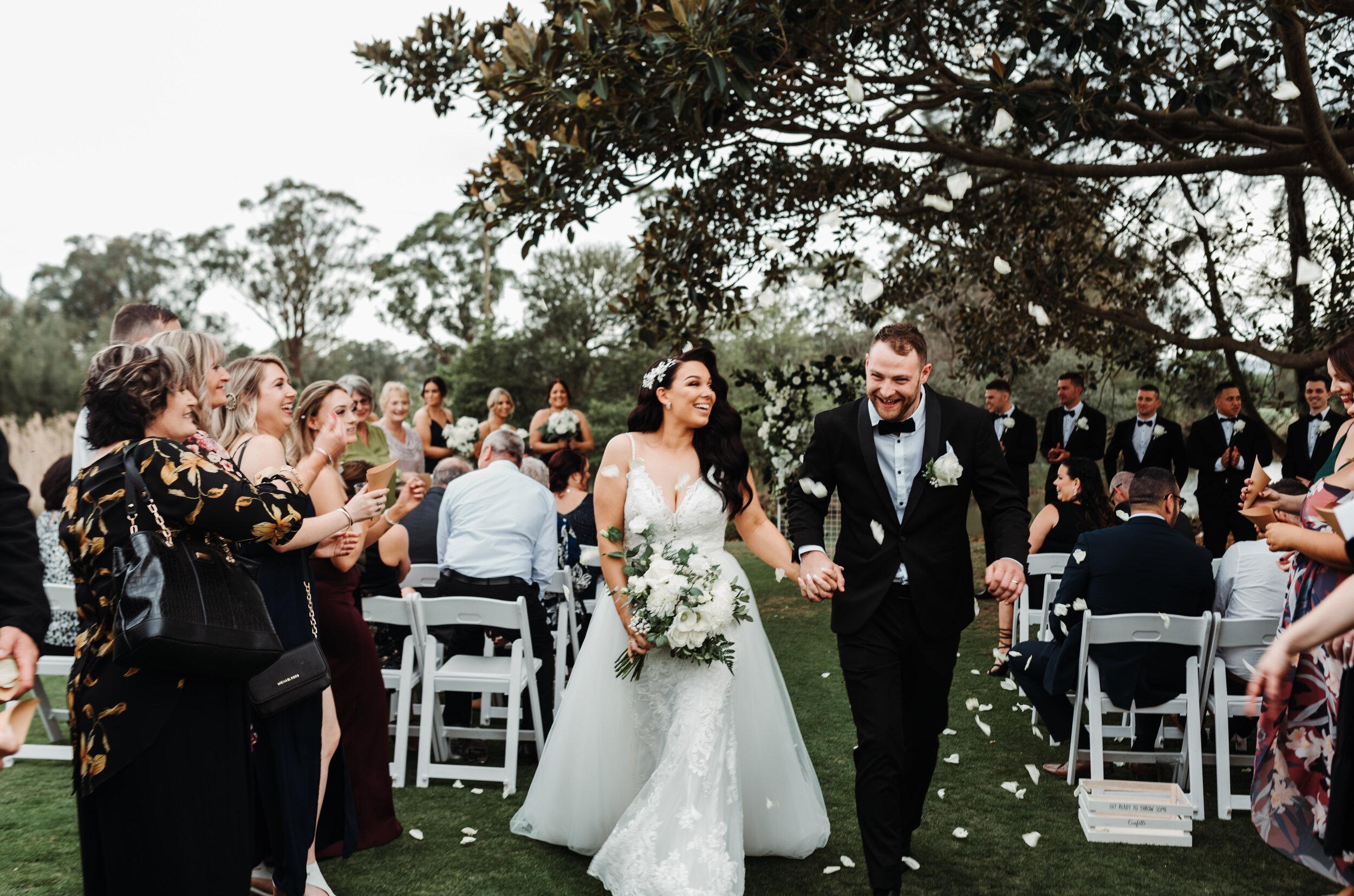 Samantha & Troy - The Grange, Kembla Grange Wedding    6th September 2019