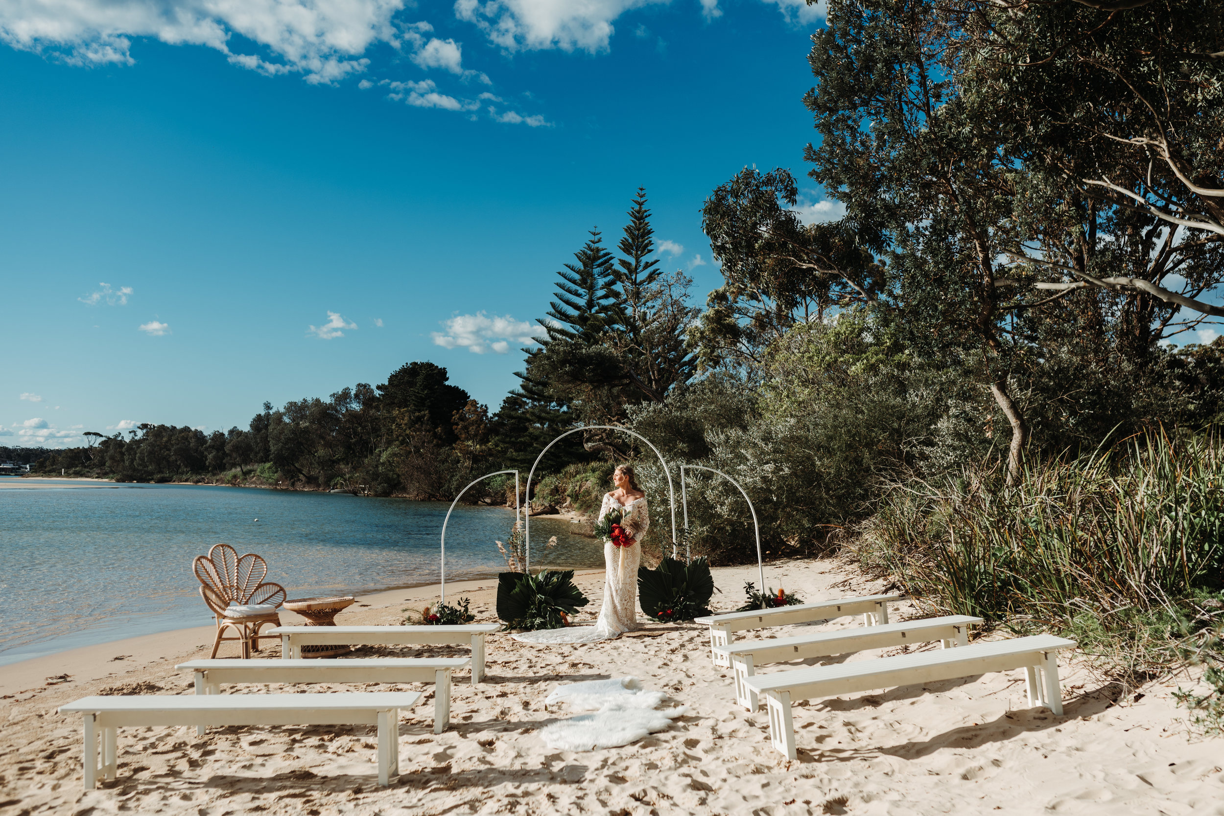 The Cove, Jervis Bay Bridal Session    23rd September 2019