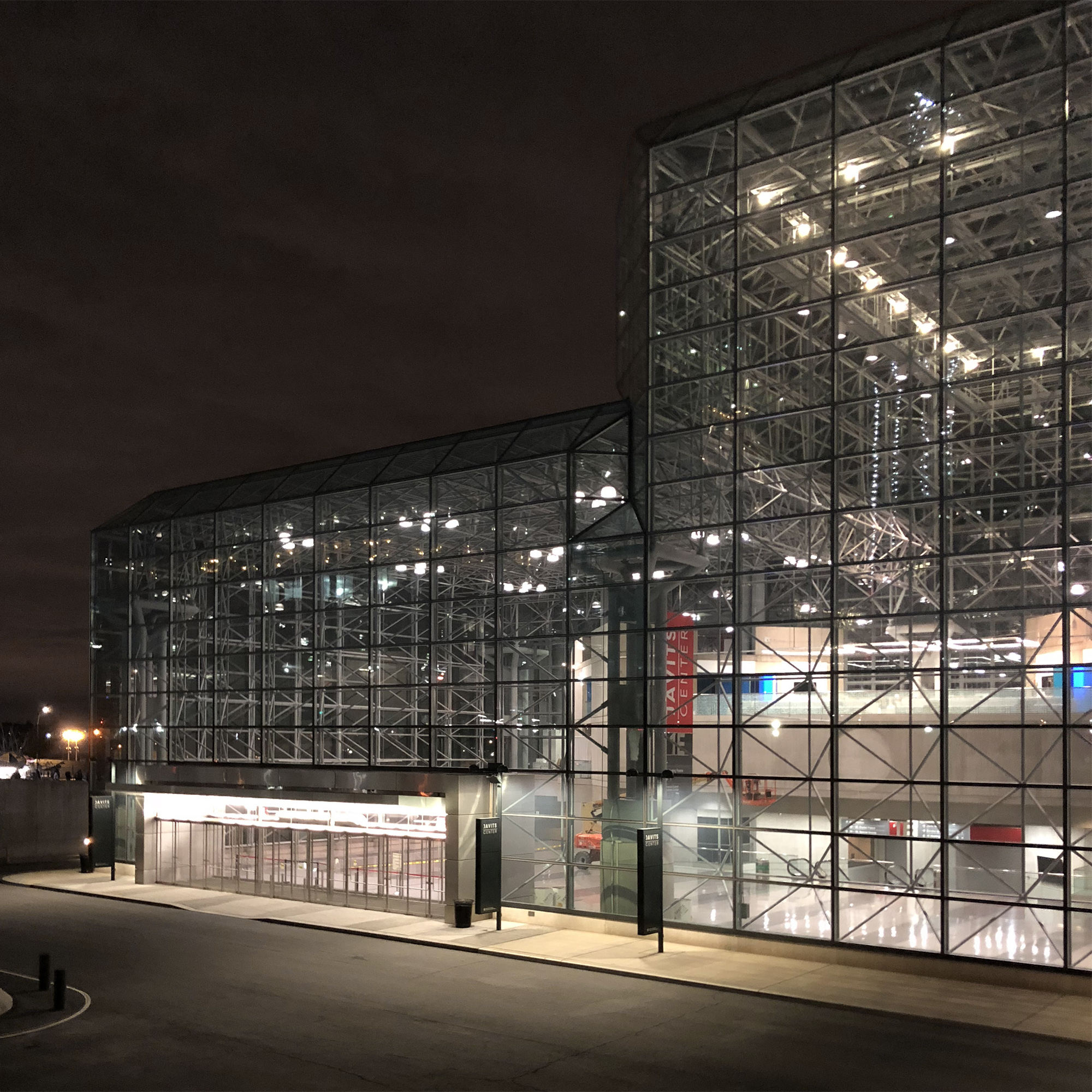 The Javits Center in New York. Designed by Pei, Cobb, Freed.