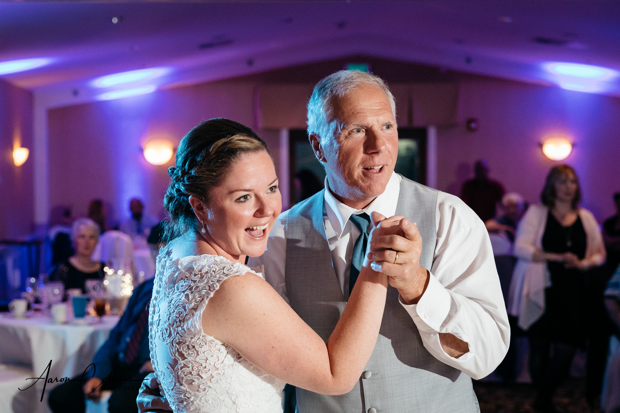 Leigh Ann and Jay Wedding, captured on May 19, 2018; at Red Jacket Inn, in Yarmouth, MA, by Aaron Collins Photography.