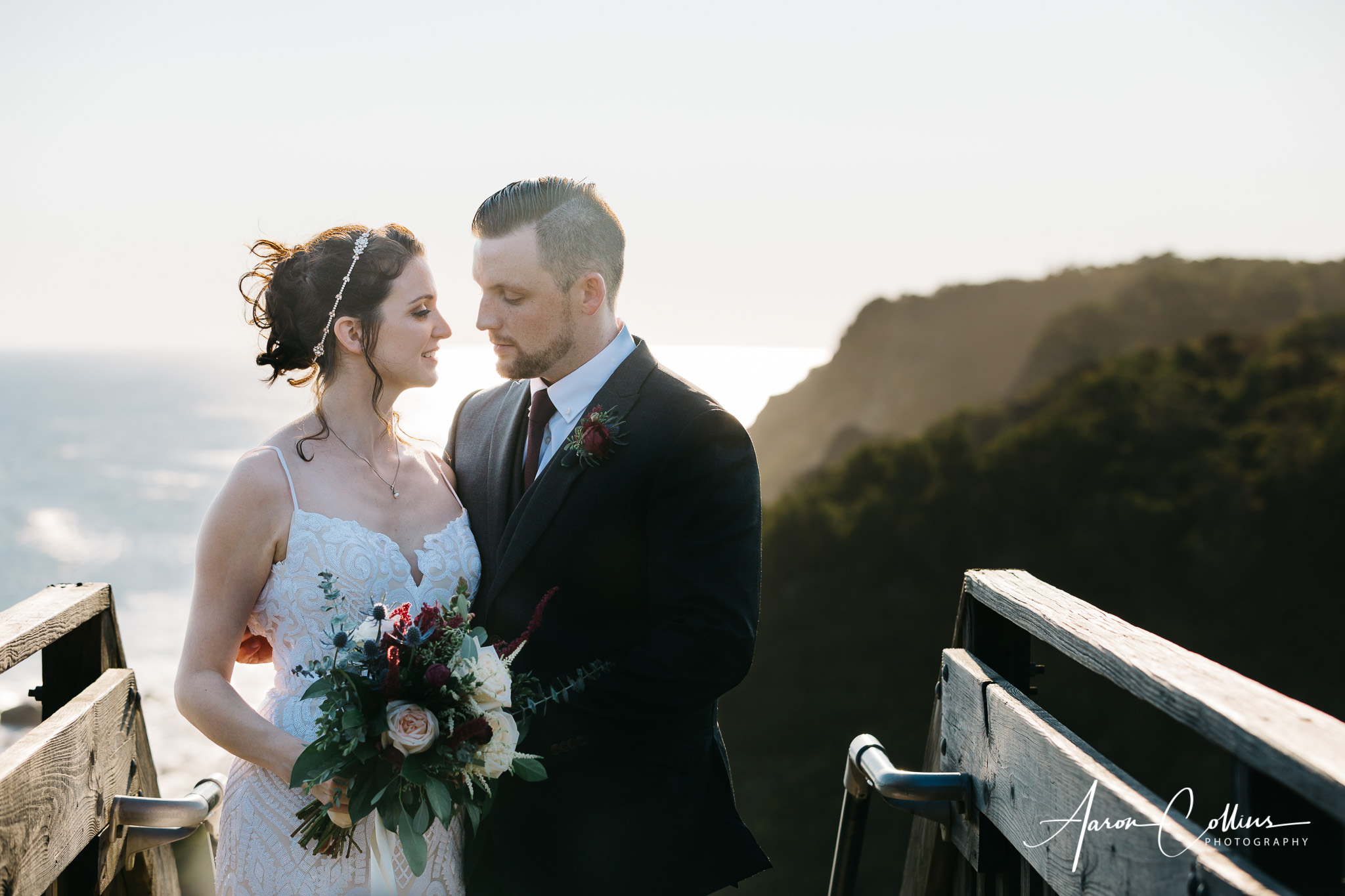 Meg and Andrew Wedding, captured on Sep 29, 2018; at Block Island Maritime Institute, in New Shoreham, RI, by Aaron Collins Photography.