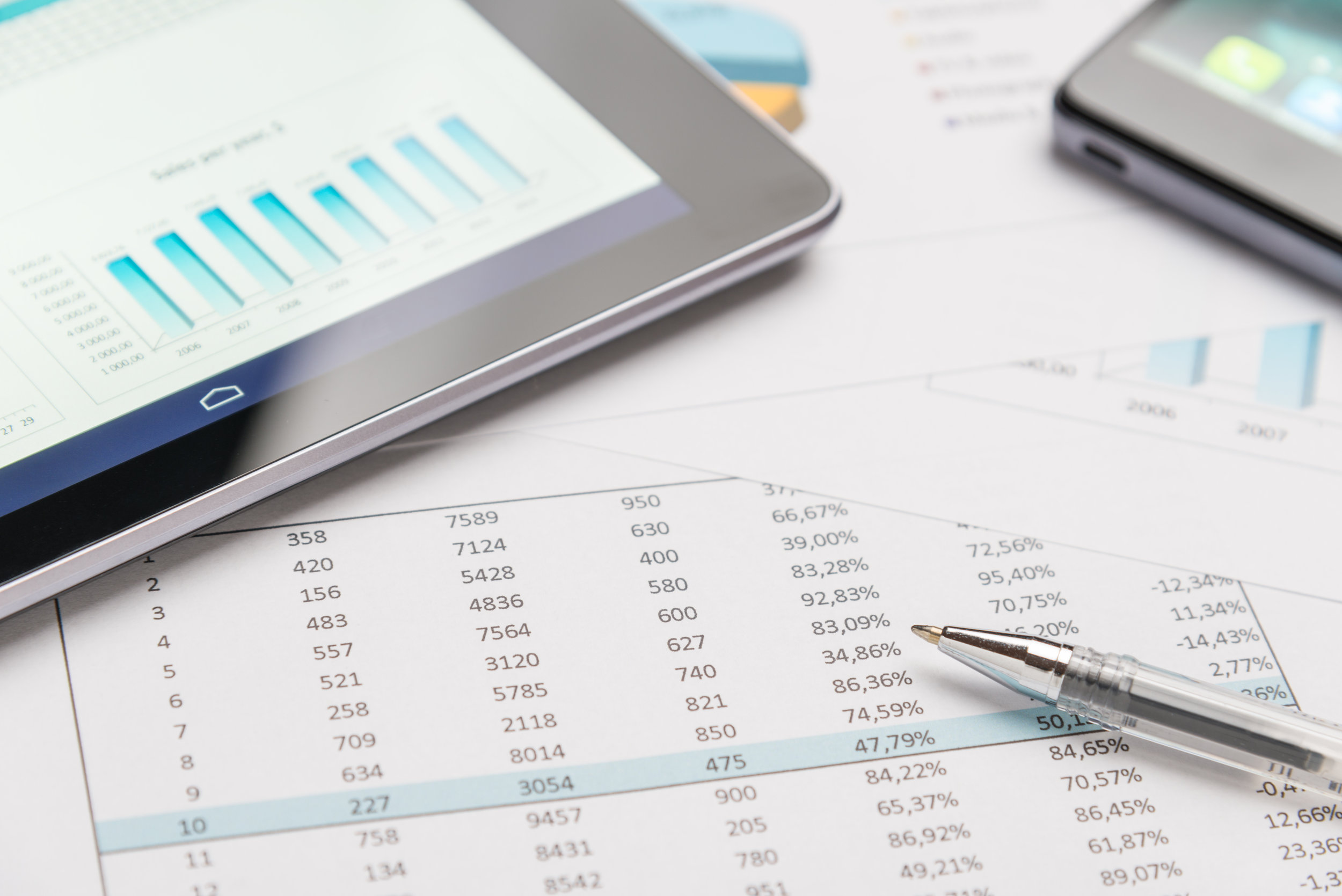 Financial Modeling - We provide financial due diligence/feasibility and best use analysis.