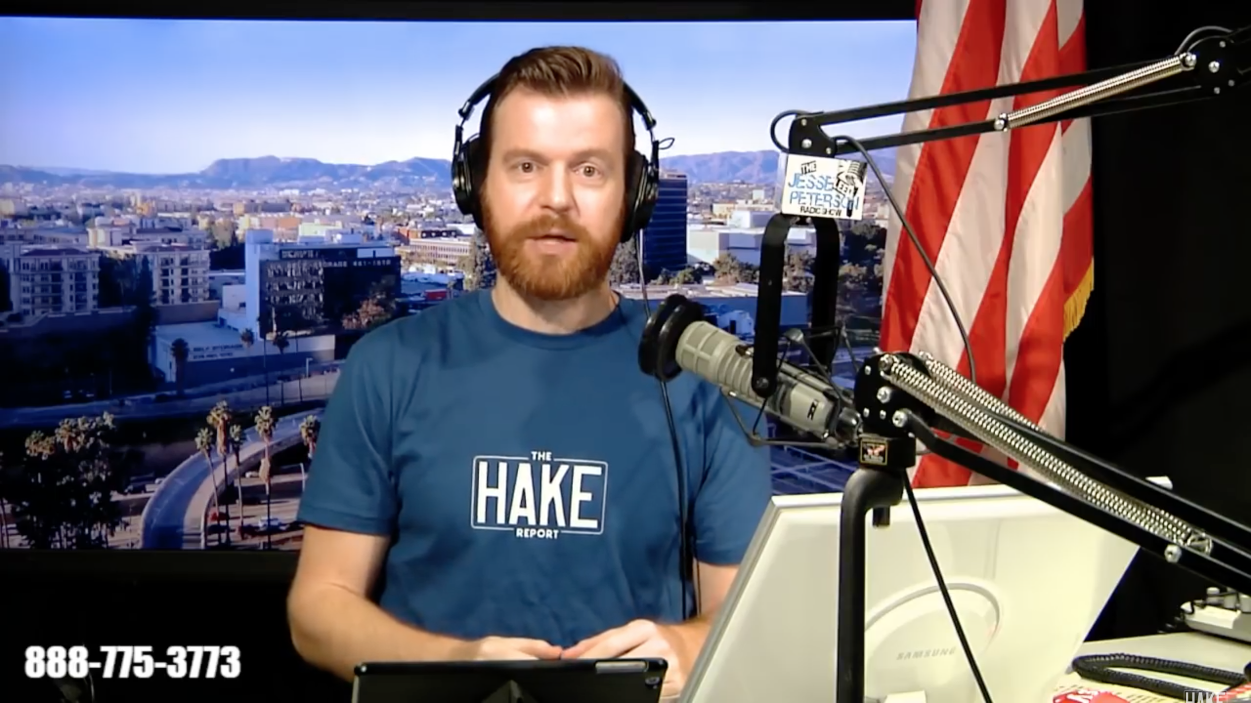 Screenshot of James on The Hake Report, December 9th, 2018