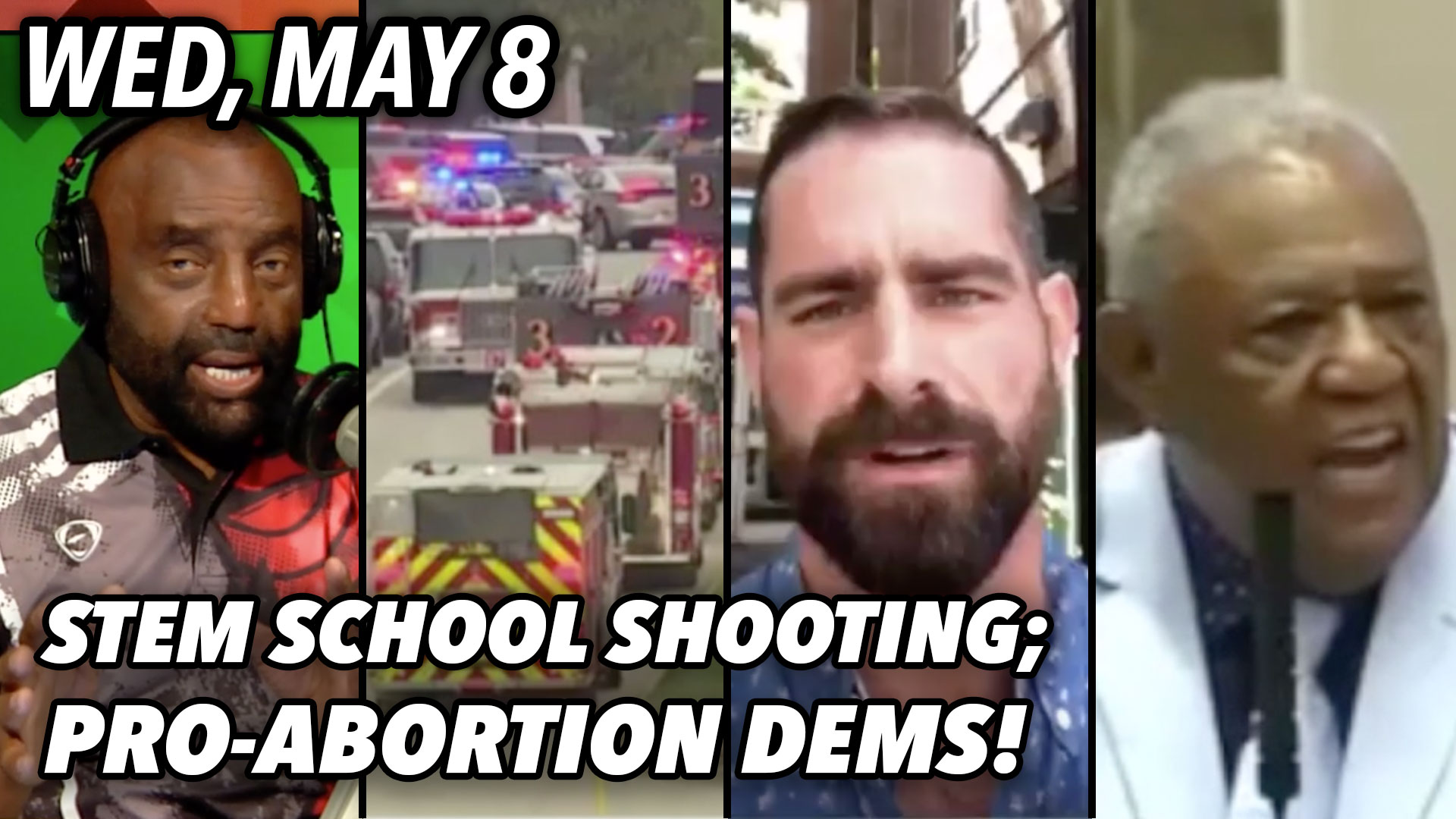 Thumbnail from The Jesse Lee Peterson Show,  Weds., May 8, 2019