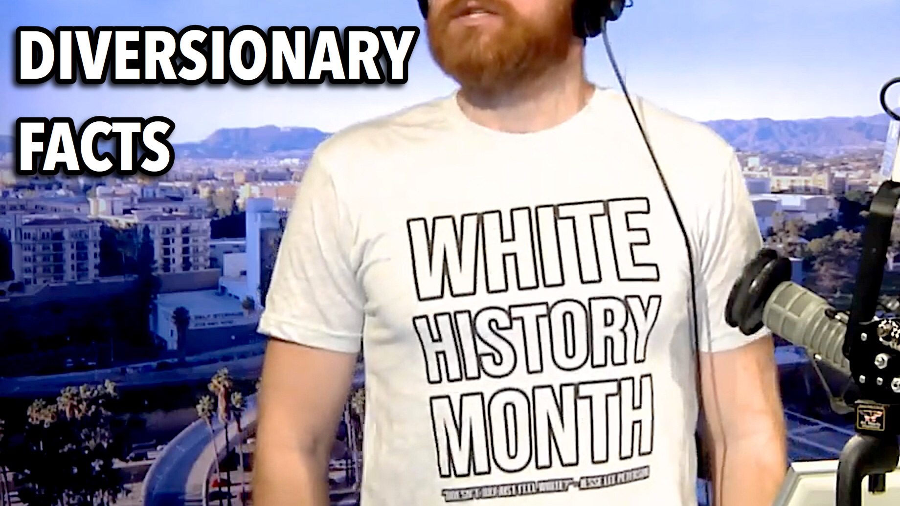 Get your White History Month t-shirt from  Jesse Lee Peterson Teespring  store!