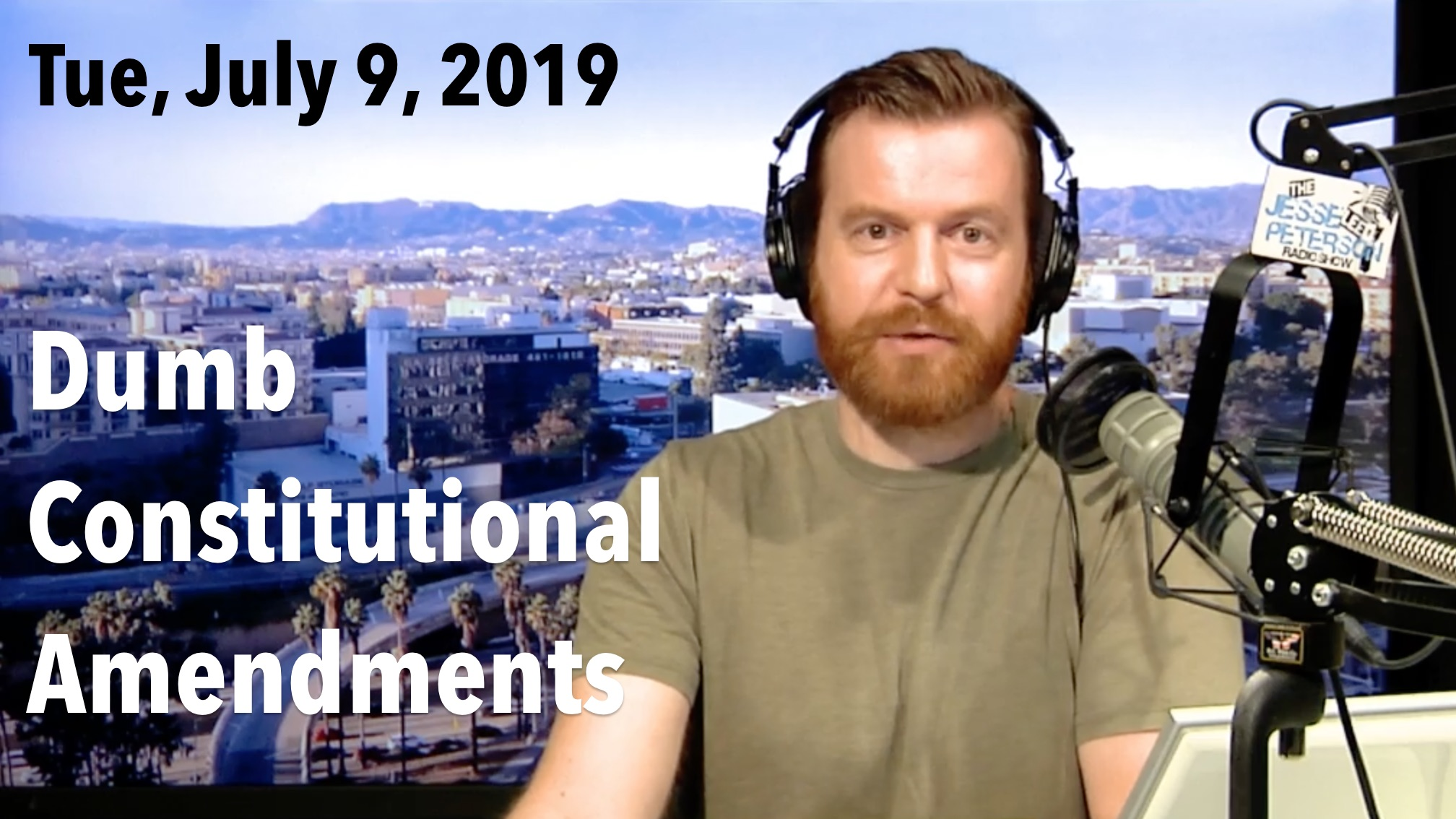 Thumbnail from Tuesday, July 9, 2019 – Dumb Constitutional Amendments