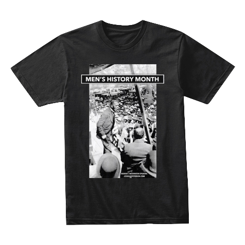 (Jesse Lee Peterson  Teespring  Store) Readable version of Men's History Month t-shirt!