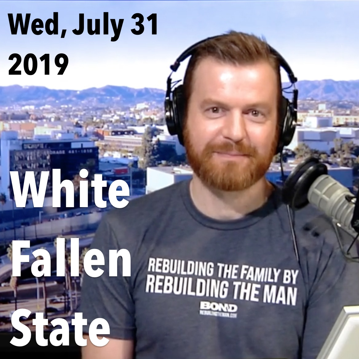 Square thumbnail from James's show on The White Fallen State, Wednesday, July 31, 2019