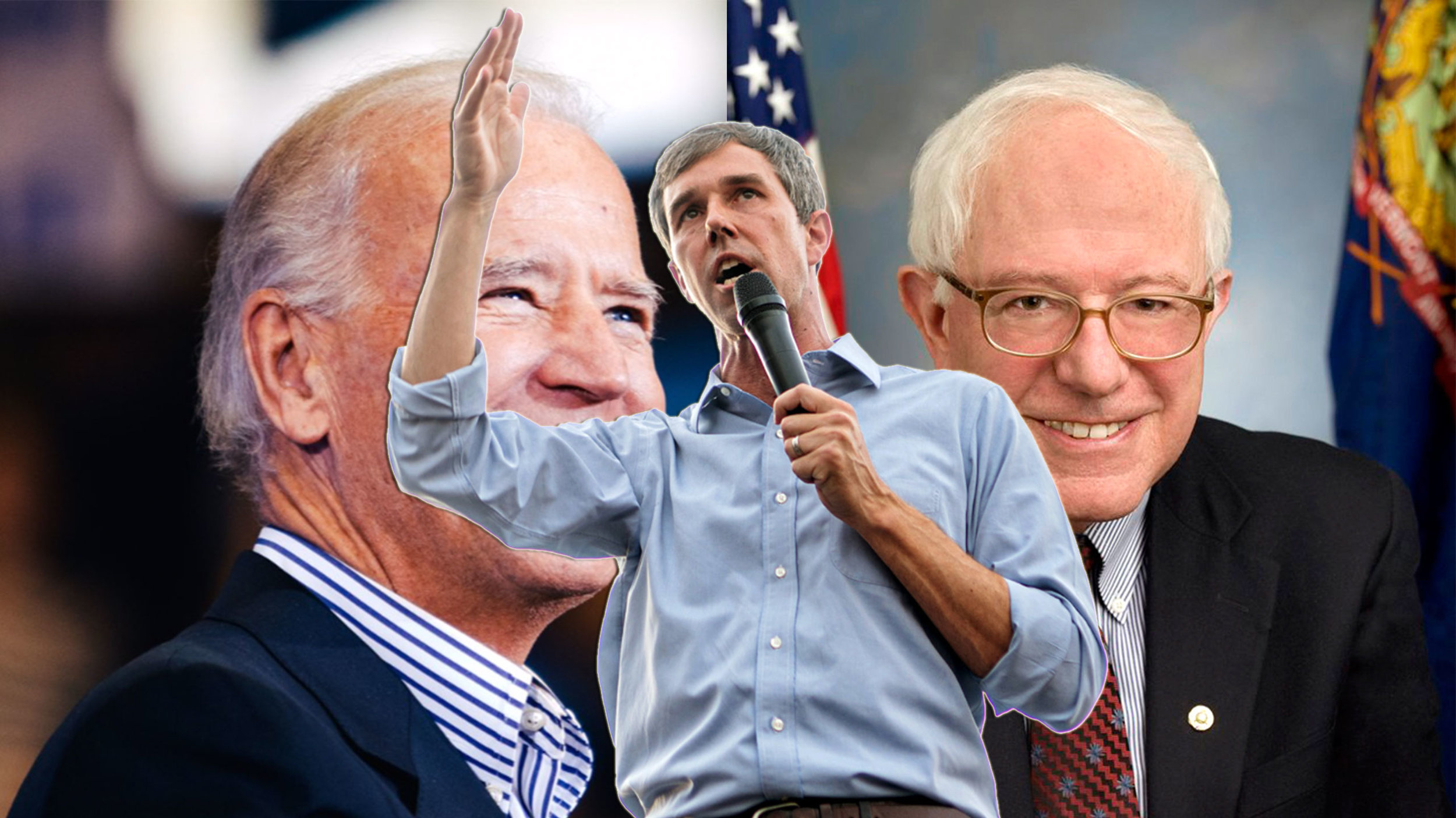 Biden, Beto, and Bernie…