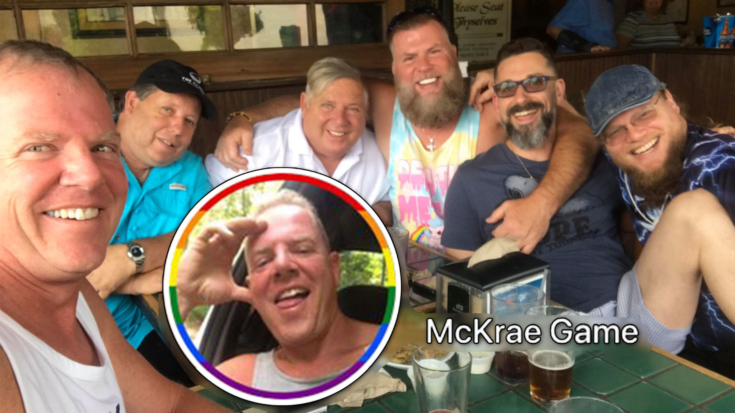 "Facebook photos from fired conversion therapy ""leader""-turned-denouncer McKrae Game"