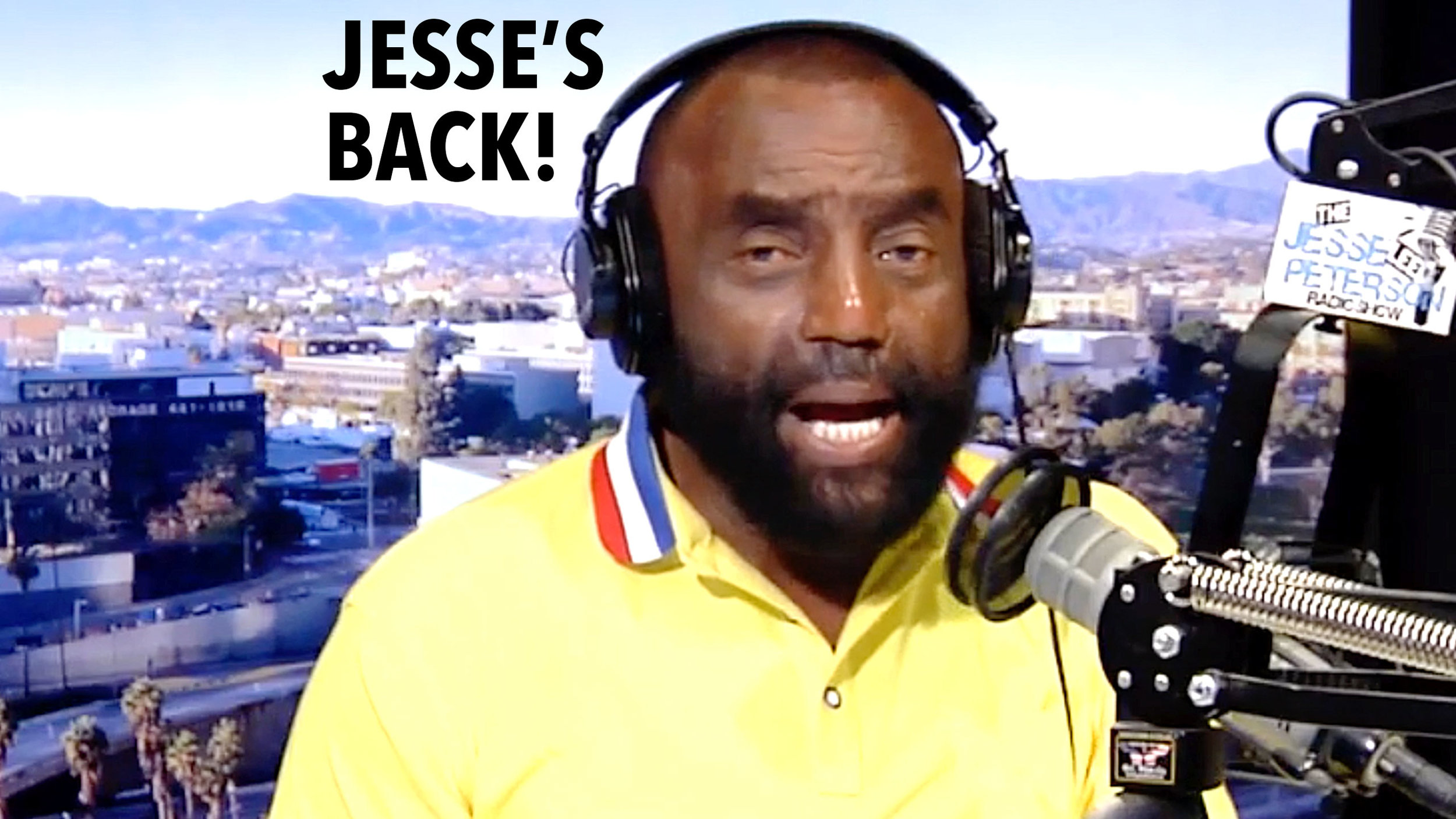 Thumbnail from today's show: Jesse's back! (guest hosting)
