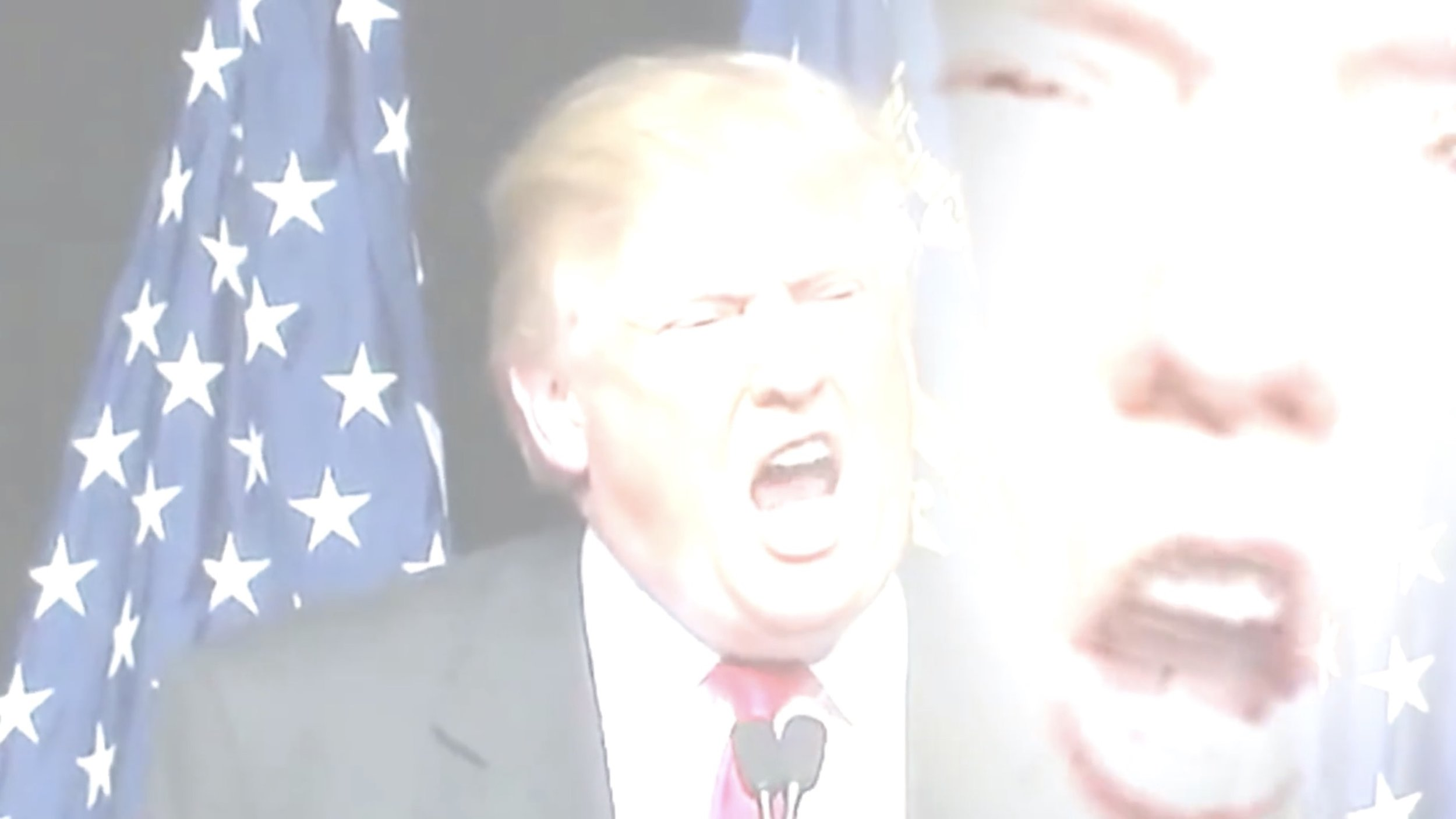 Screenshot of Trump from Placeboing's video