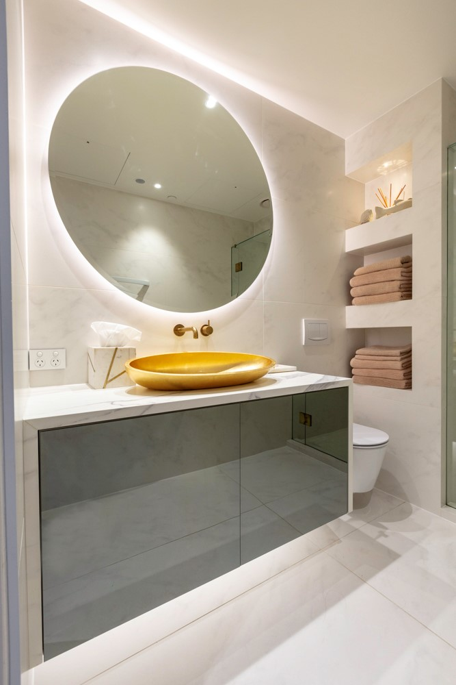 Stunning Mirror Splashbacks For Kitchen Bathroom Bedroom Image Glass