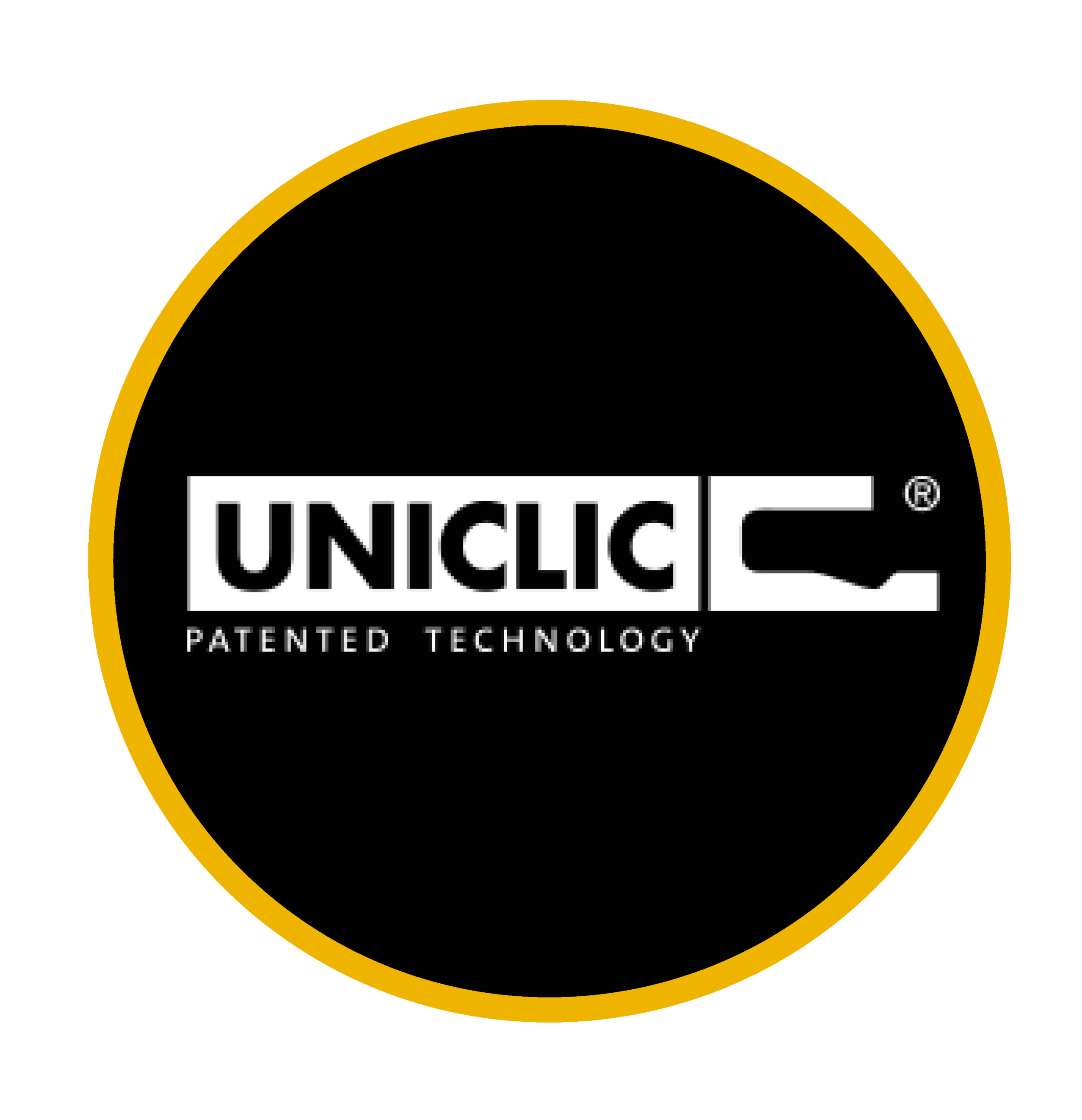 Patented UNICLIC Locking System