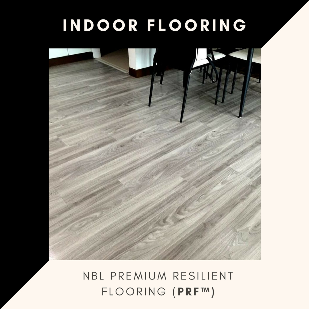INDOOR FLOORING  Premium Resilient Flooring (PRF™) Green Label Singapore