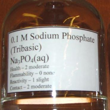 10% Sodium Phospate SolutionRESULT:PRF™ IS NOT AFFECTED -
