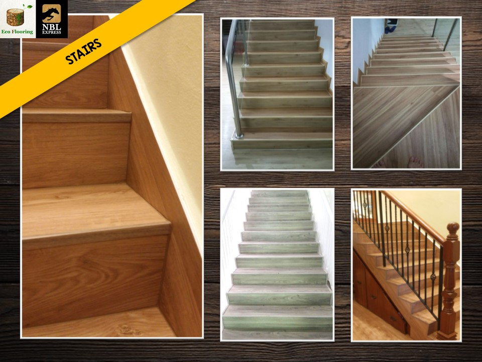 Premium Resilient Vinyl Flooring for Stairs