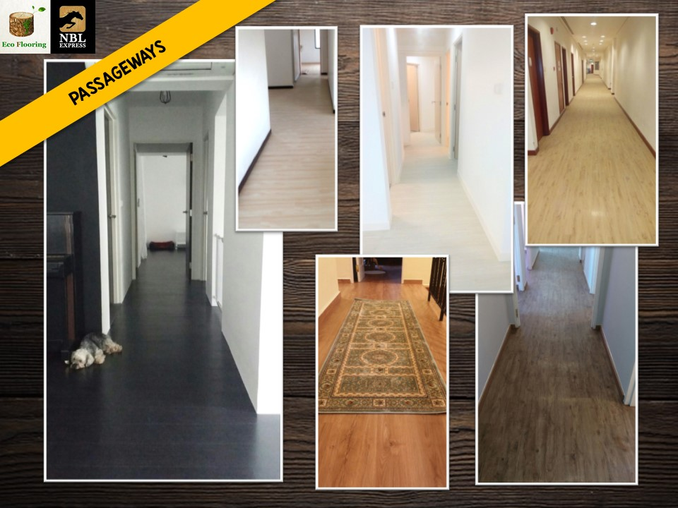 Premium Resilient Vinyl Flooring for Hallways