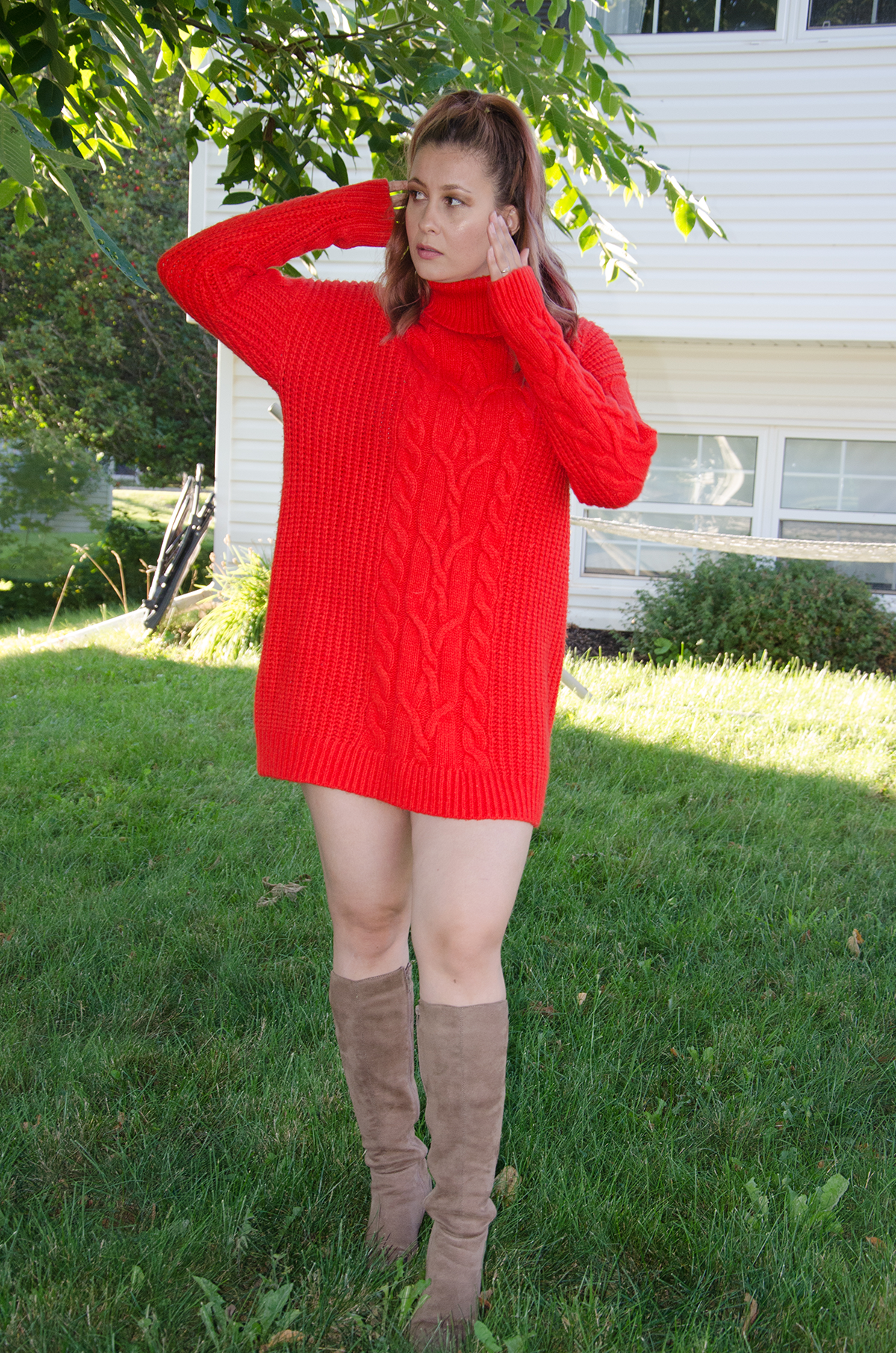 The sweater dress - Casual