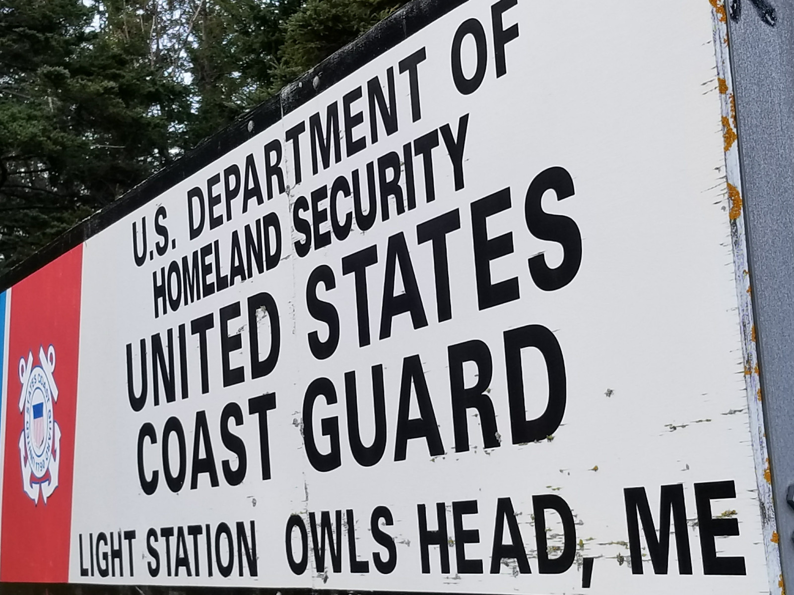 US Coast Guard Owl's Head