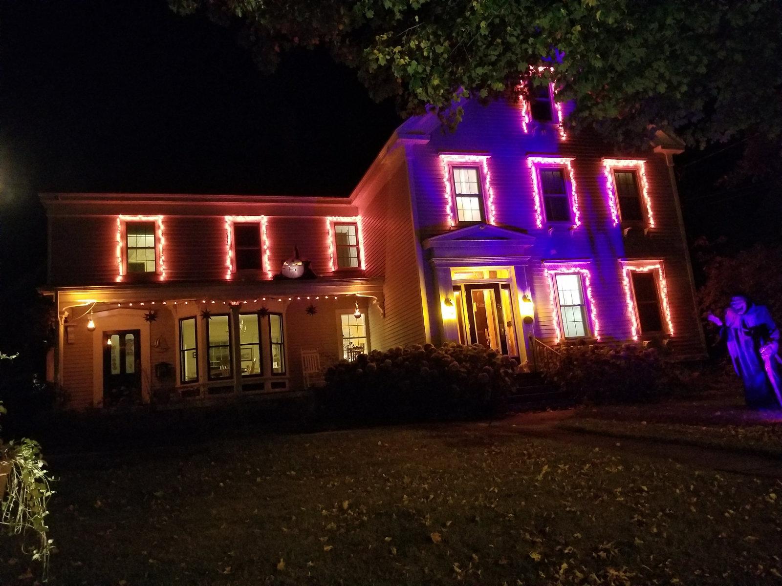 Camden Windward House at Halloween