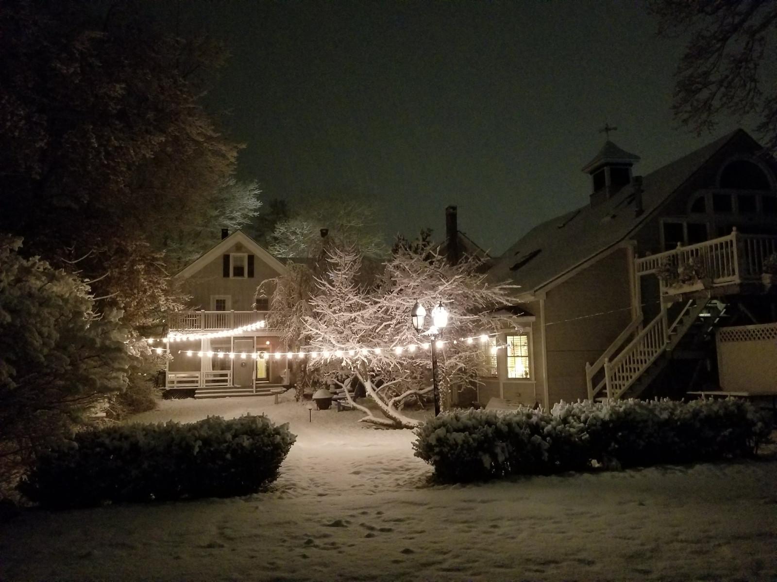 Winter at Camden Windward House