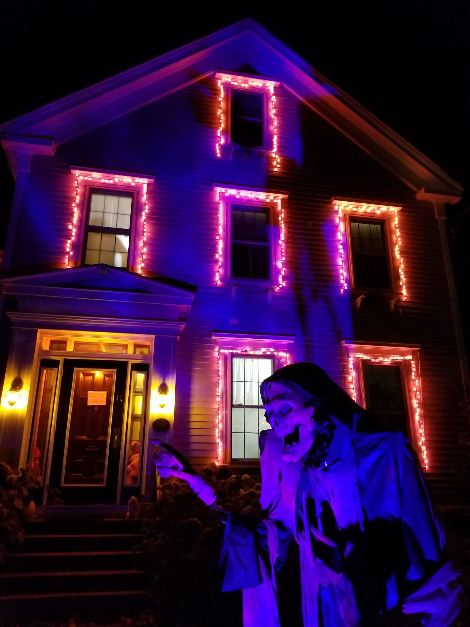 Grim Reaper at Camden Windward House