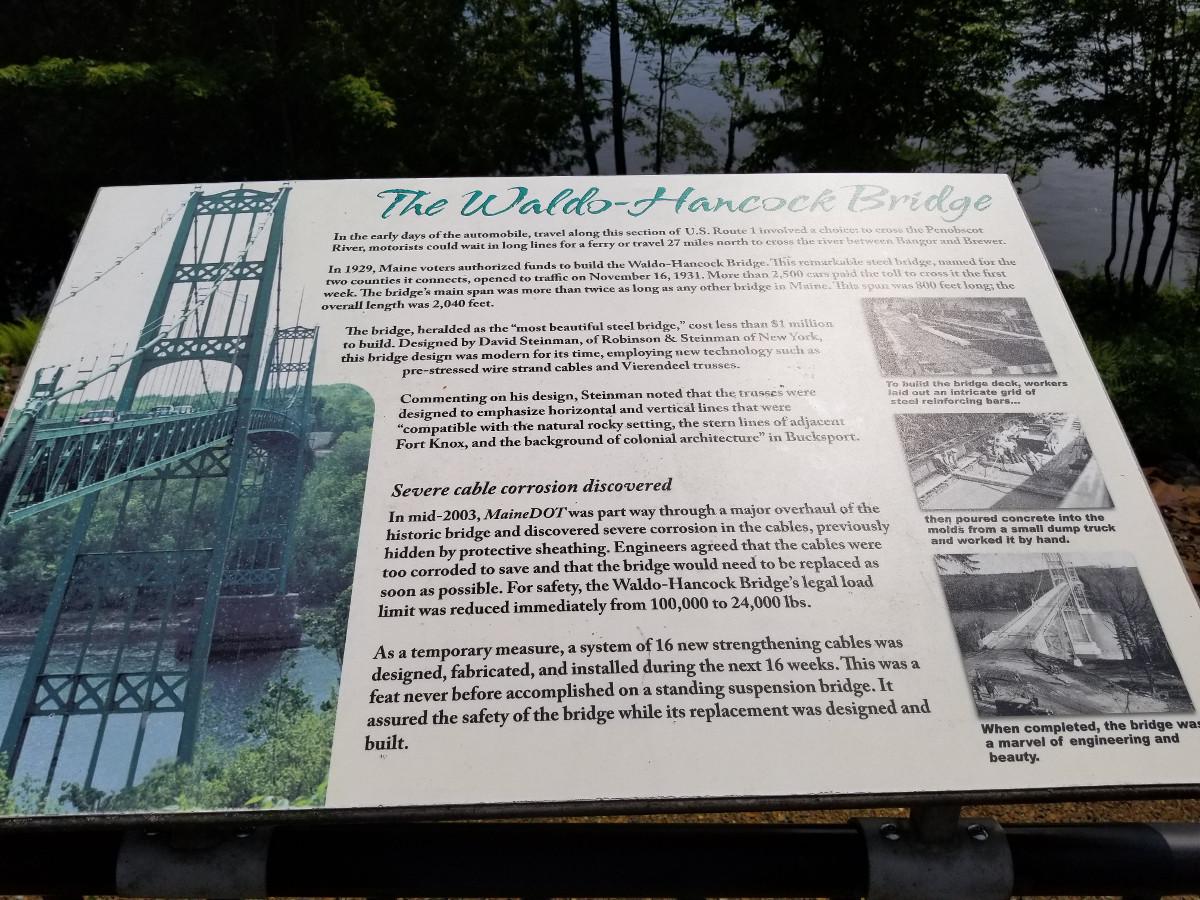 The Waldo-Hancock Bridge