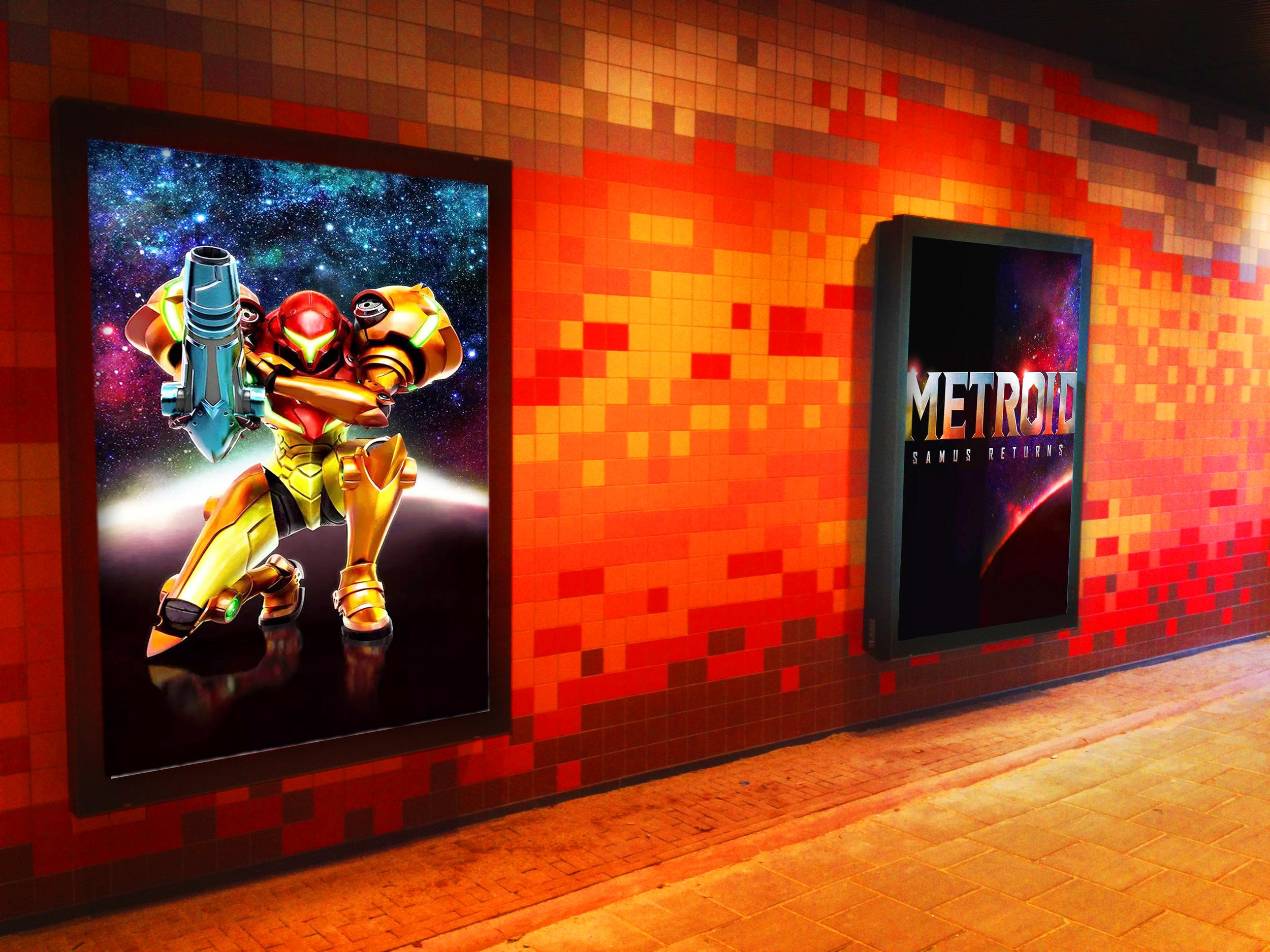 Metroid Metro