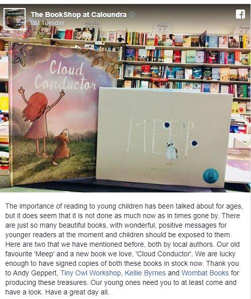 Bookshop at Caloundra FB post.JPG