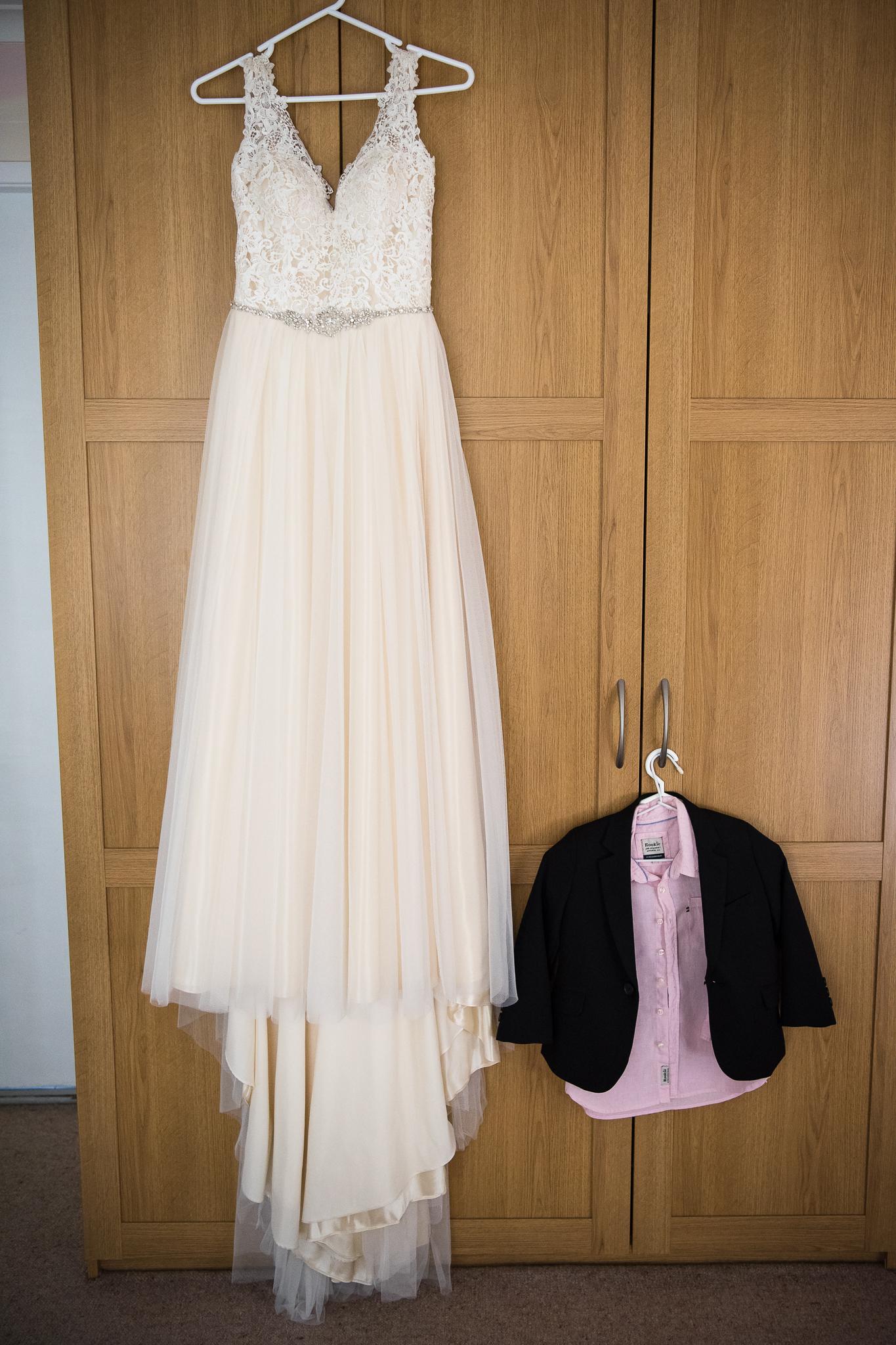 sydney wedding prep dress and tux