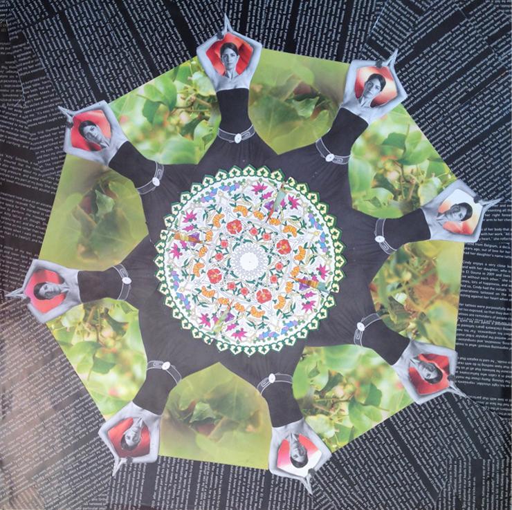 Recycled Mandala - Earth