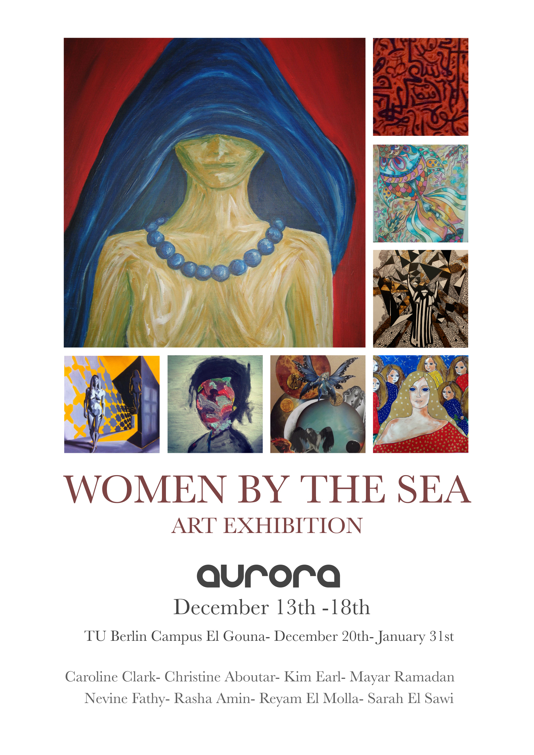Women By The Sea Exhibition 2015
