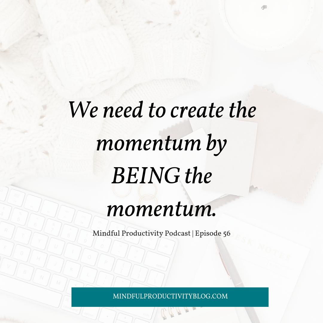 Mindful Productivity Podcast