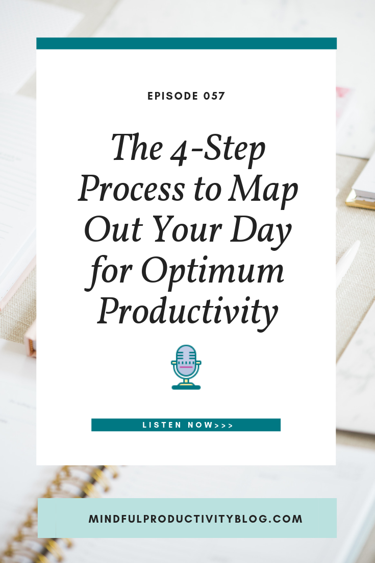 The 4-Step Process to Map Out Your Day for Optimum Productivity