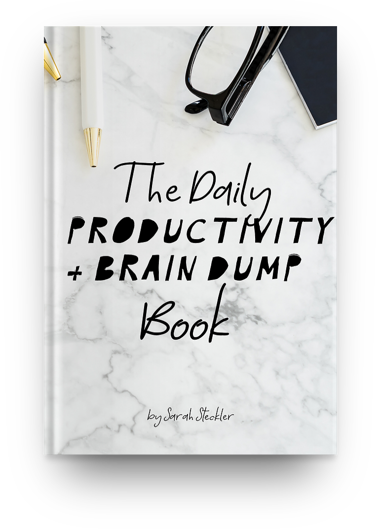 Daily Productivity & Brain Dump Book