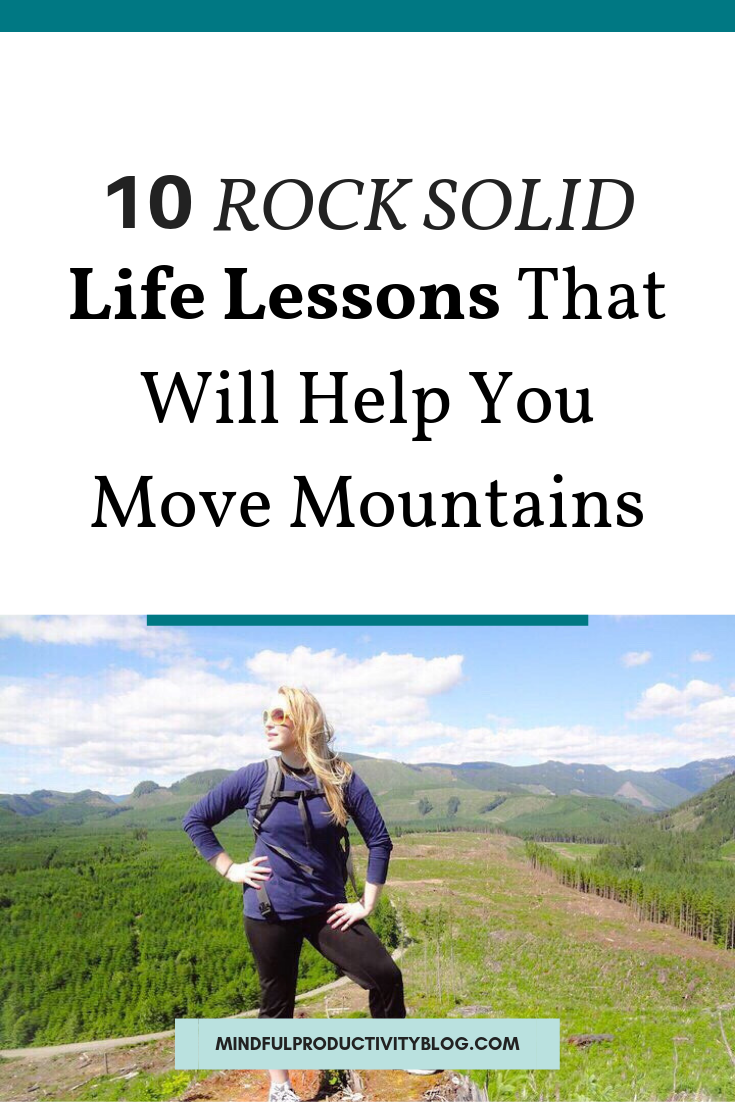 10 Rock Solid Life Lessons