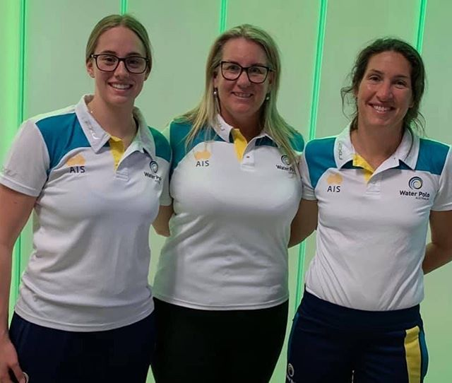 Our Triton reps heading off to the Junior World Championships in Portugal.  Jamie Oberman  Fiona Haigh (Referee) Georgina Kovacs (Head Coach) We wish them all safe travels and great games! #tritonfamily #superproud