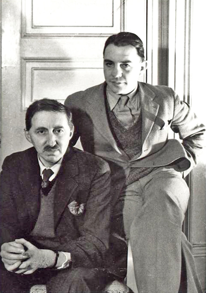 E.M. Forster and his second love, Bob Buckingham