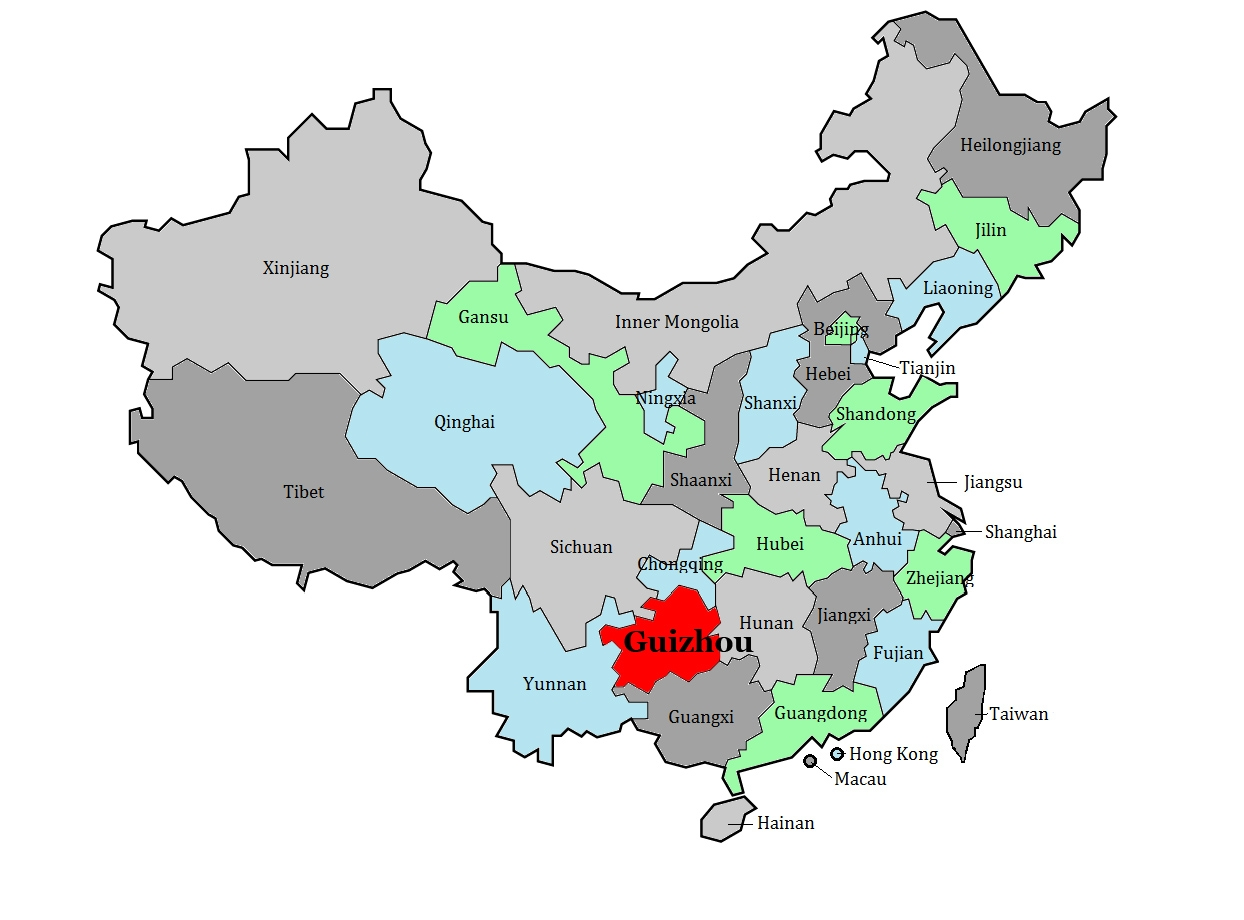 Guizhou Province China, map.jpg