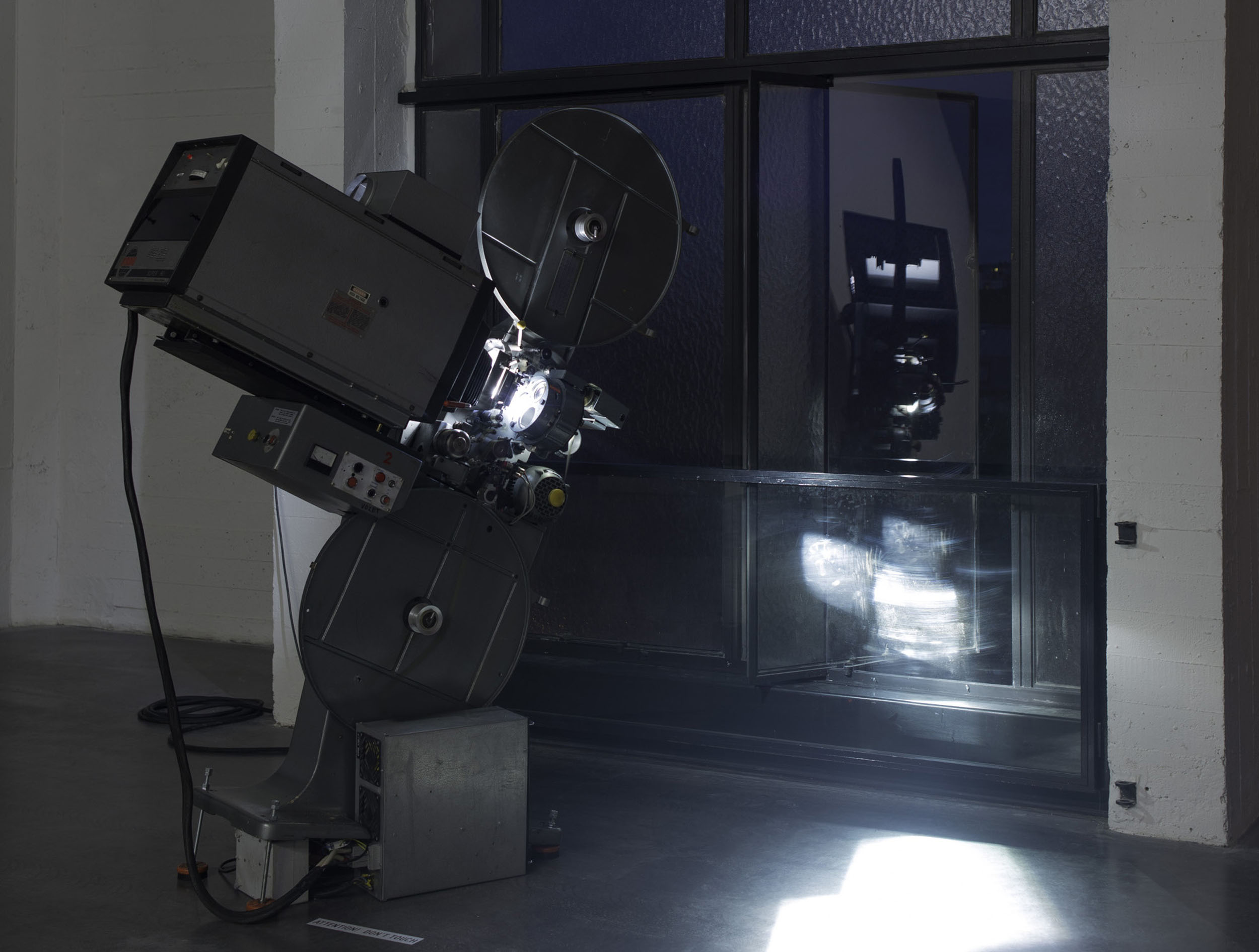 40 Installation view of Film as Sculpture (07.06-18.08.2013) with Rosa Barba, %22White Museum%22, 2013 at WIELS, Contemporary Art Centre, Brussels. Photo Filip Vanzieleghem _3.jpg