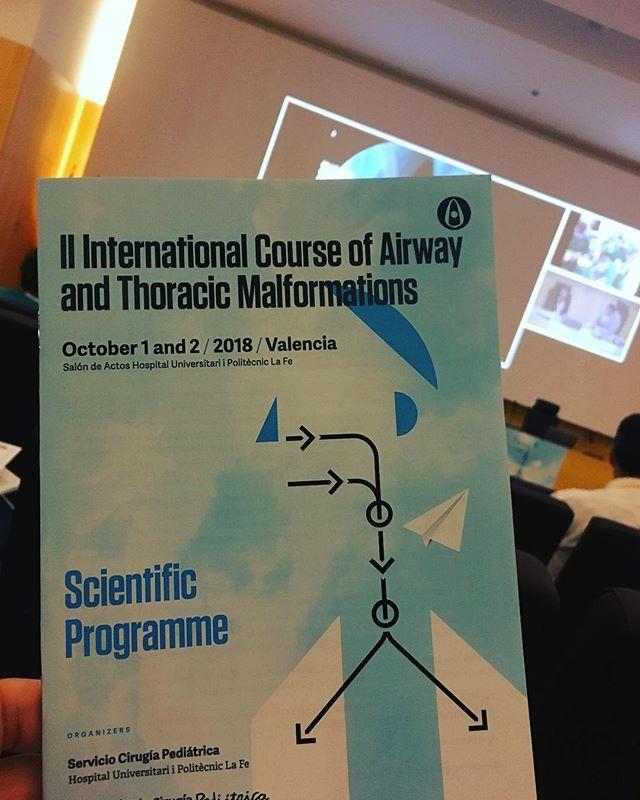 Seguimos aprendiendo. Patología de la vía aérea pediatrica... fontanería aérea a pequeña escala. #airway #paedent #orlpediatrica