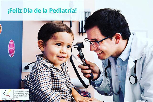 Como dice la #seorlccc ¡feliz #diadelpediatra ! Y de aquellos no #pediatras pero que nos dedicamos a los #niños #orlpediatrica