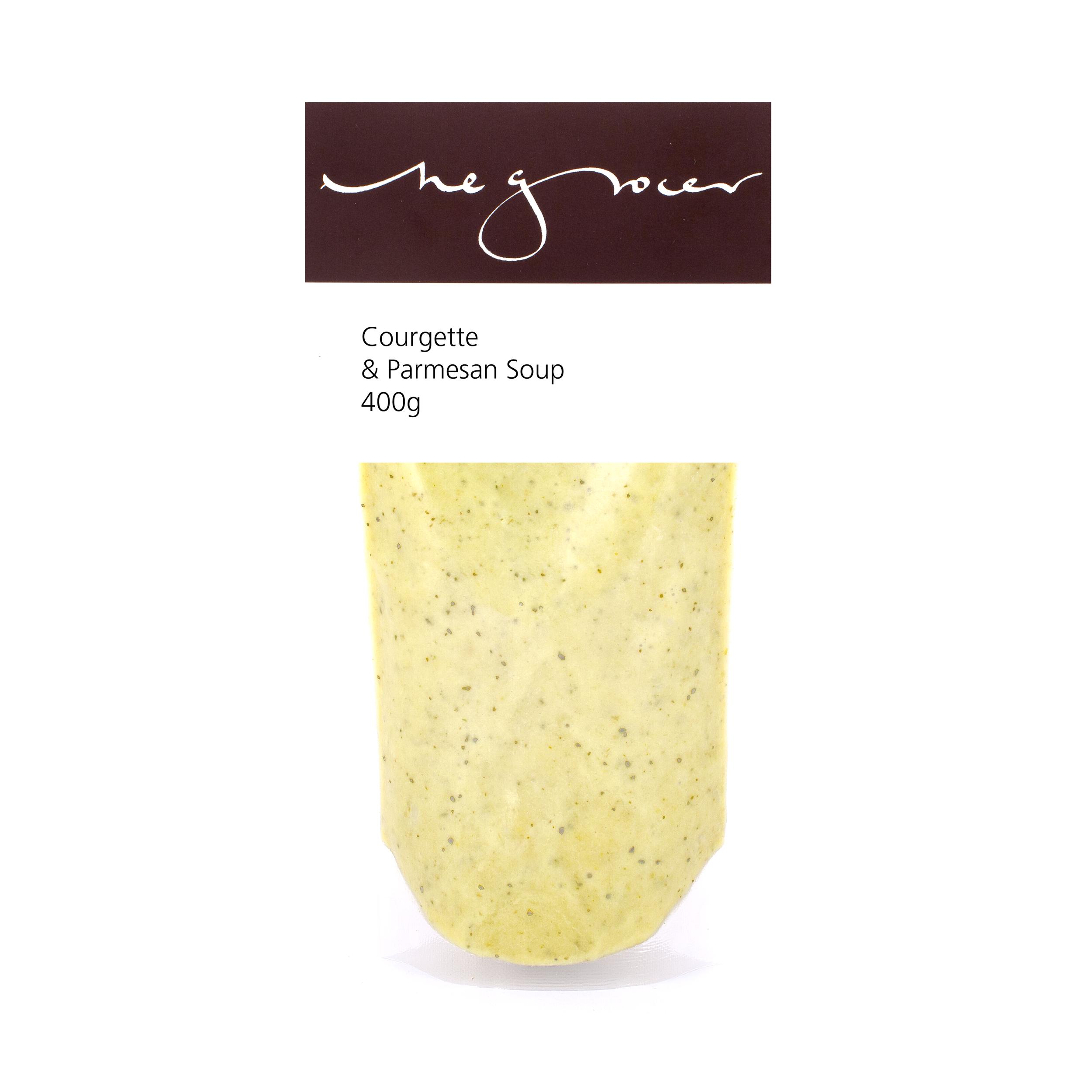 Courgette & Parmesan Soup 400g - £5.60